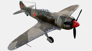 russian soviet fighter aircraft model