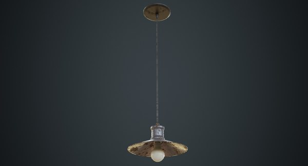 3D hanging lamp