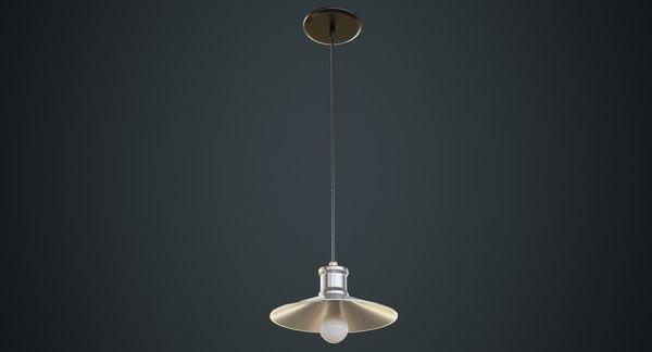 hanging lamp 4b 3D model