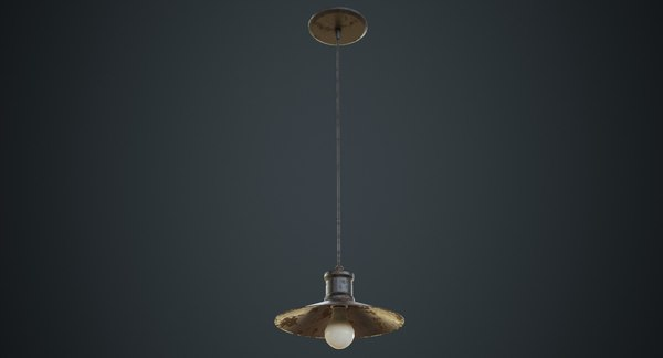 3D hanging lamp 4c
