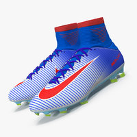 3D nike mercurial veloce soccer