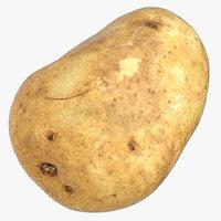 3D potato 03 model