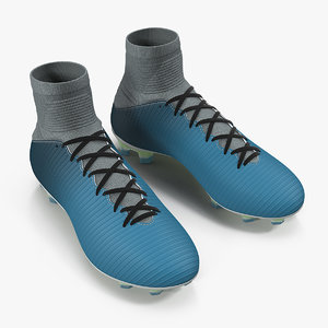 3D soccer cleats generic model