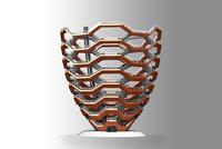 modelled printable vessel hudson 3D model