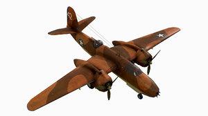 3D united states light bomber