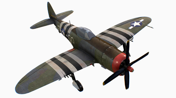 united states fighter aircraft 3D model
