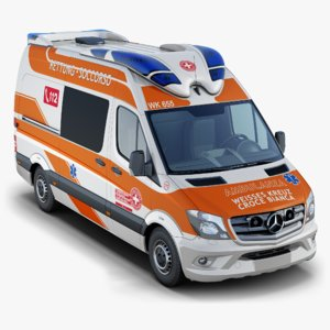 mercedes-benz sprinter ambulance model