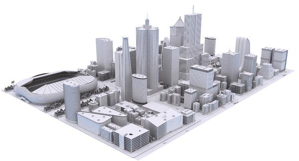 3D city clay