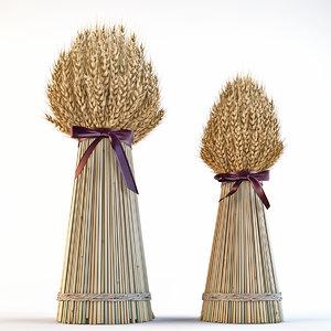 3D decorative sheaves