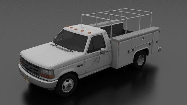f-350 drw regular cab model