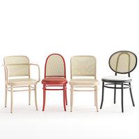 3D chairs morris n 811