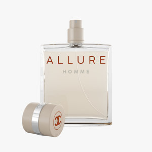 3D chanel allure homme model