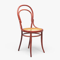 3D thonet chair