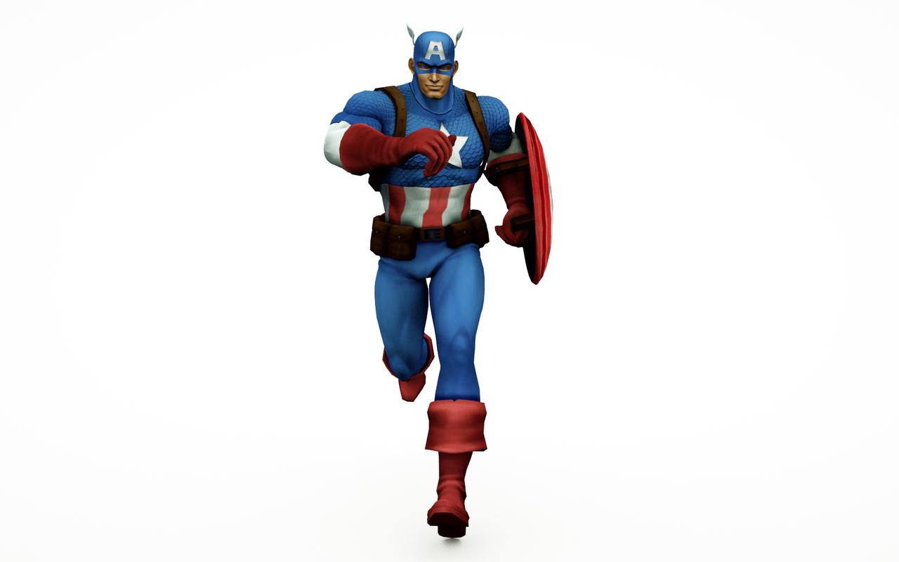3D captains movie comic