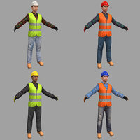 3D pack female worker