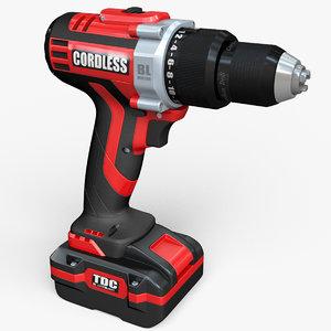3D cordless drill