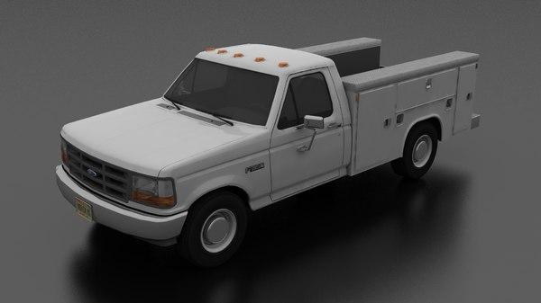 f-350 service utility truck model