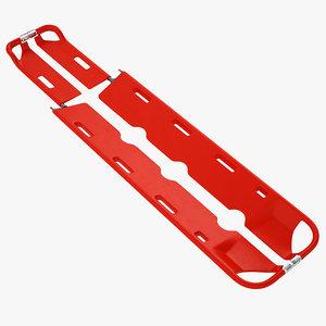 plastic backboard scoop 3D model