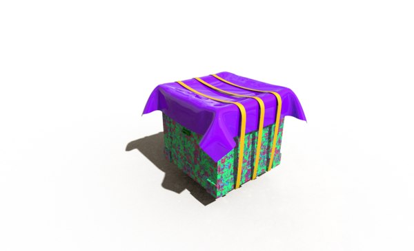 pubg airdrop 3D model