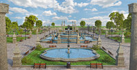 Garden Park Fountain