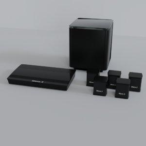 3D model home speaker