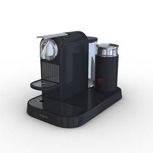 nespresso magimix 3D model
