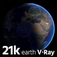 Vray Earth 21k