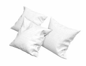 solid pillows - set 3D