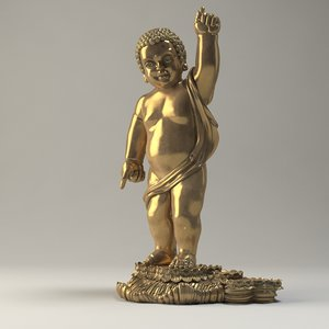 vesak buddha 3D model
