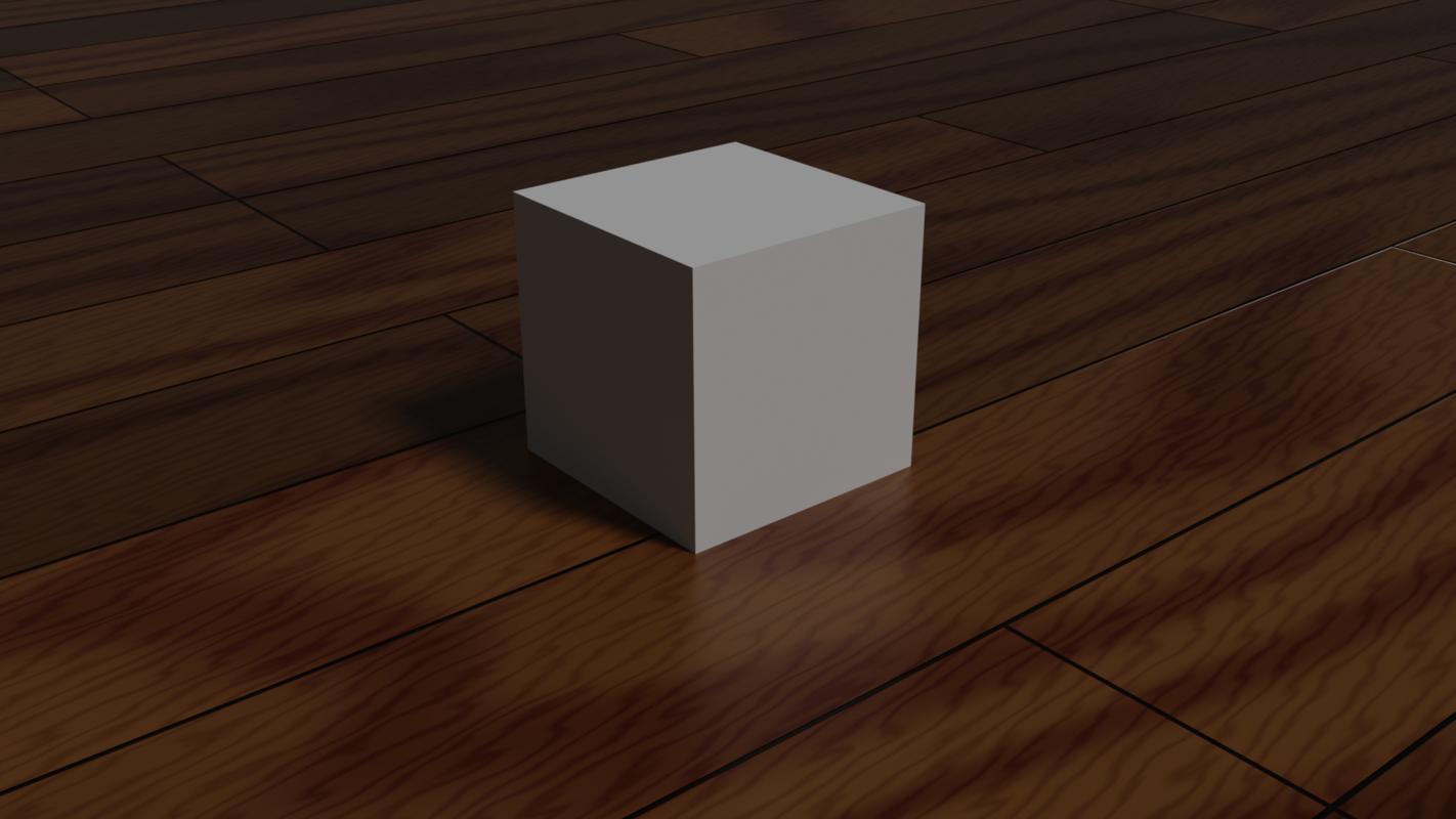 3D royalty cube model