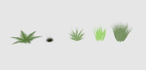 3D weeds real time
