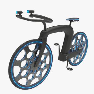 3D futuristic cycle