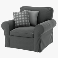 realistic ektorp armchair 3D model