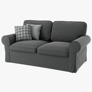 realistic ektorp seat sofa 3D