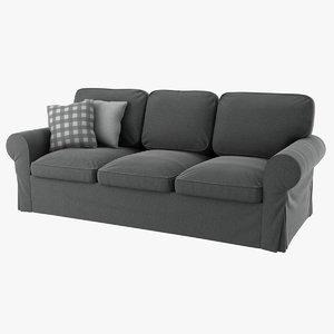3D realistic ektorp seat sofa