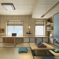 3D japanese room model