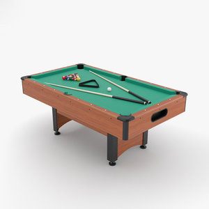 3D table pool