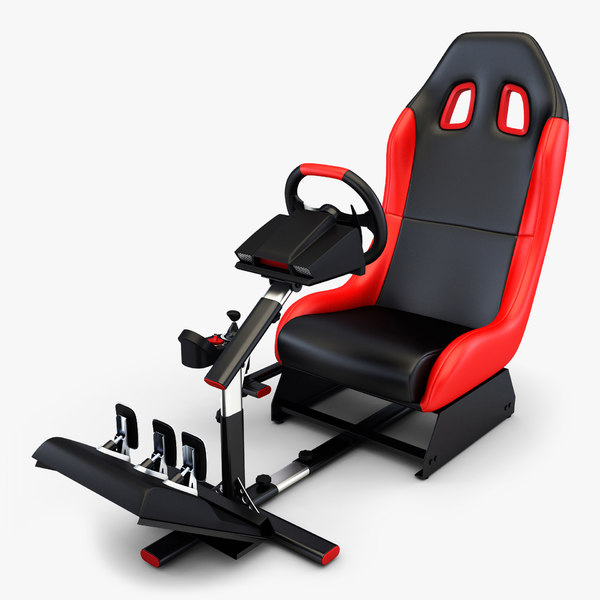 3D racing simulator v 1