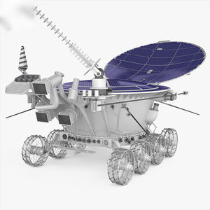 lunokhod 2 3D model