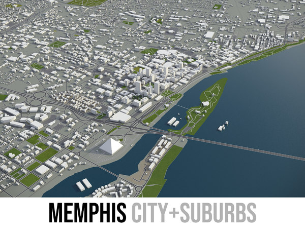 3D city memphis tennessee