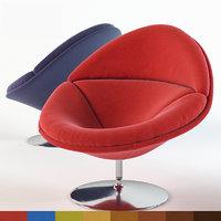 3D model chair f pierre