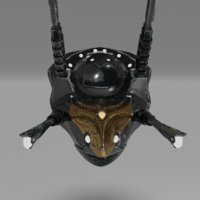3D pbr drone
