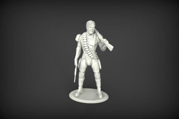 print watchmen model