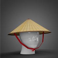 Chinese Rice Hat