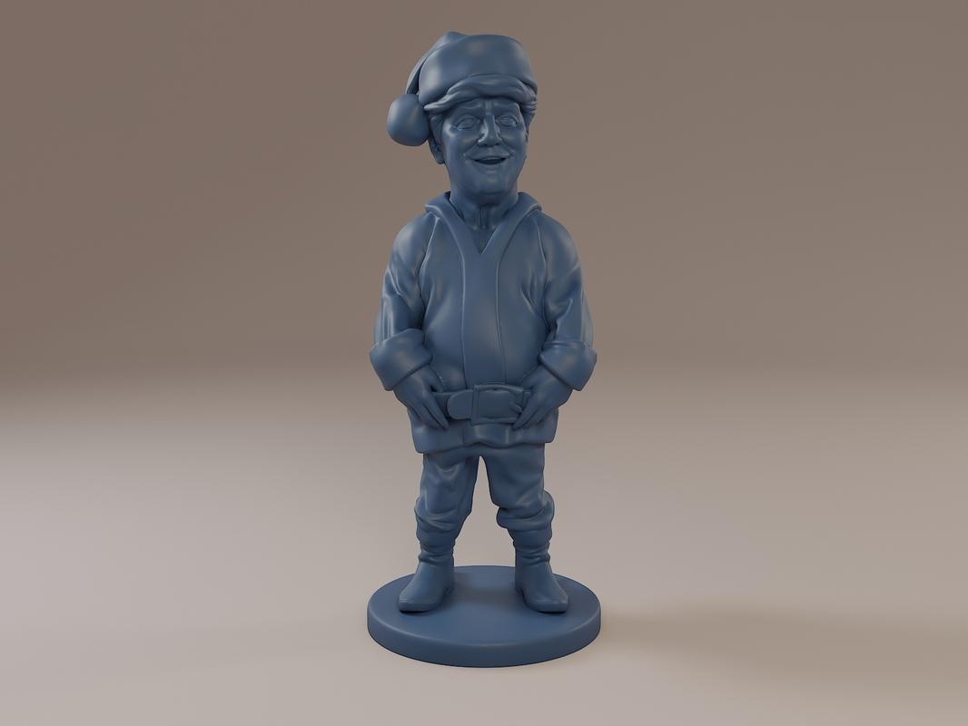 3D model donald trump santa claus