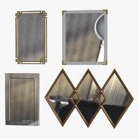 3D mirrors set 2 4