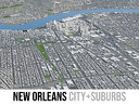 New Orleans - city and surrounding area