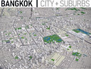 Bangkok - city and surrounding area