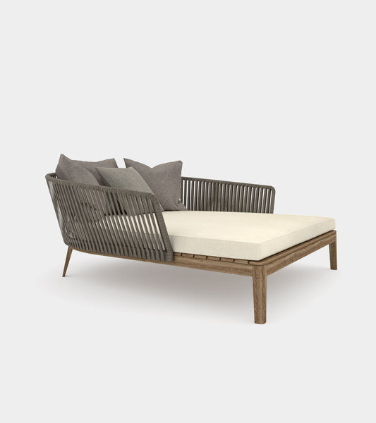 daybed modelled 3D