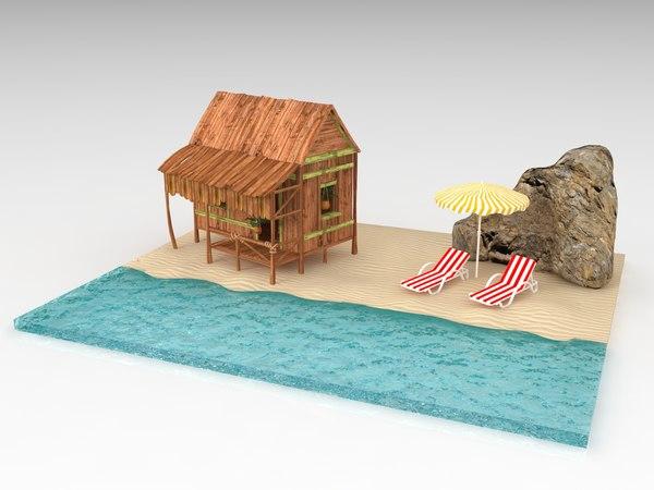 beach house model